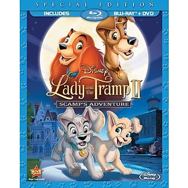 Lady And The Tramp II: Scamp's Adventure (Blu-Ray + DVD)