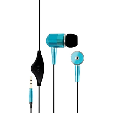 Hip Street® Noise-Isolating Earbuds, Blue