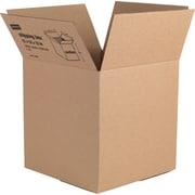 "Staples Corrugated Shipping Boxes, 12""H x 12""W x 12""D, 5/Bundle (49279)"