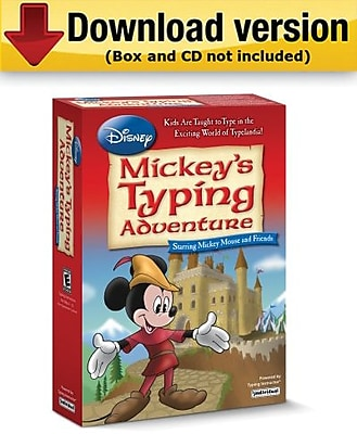Individual Software Disney Mickey s Typing Adventure Starring Mickey Mouse and Friends for Mac 1 User [Download]