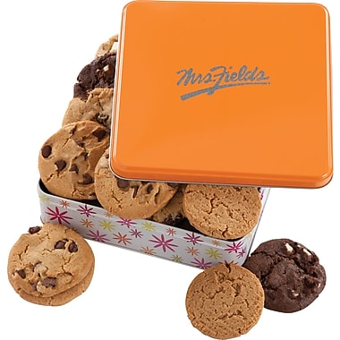 Mrs. Fields Original Cookies, Spring Tin, 12 Cookies