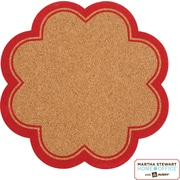 Martha Stewart Home Office™ with Avery™ Message Board, Petal, Red Border, 8-1/2 X 8-1/2