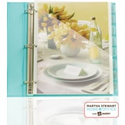 Martha Stewart Pocket Tab Dividers Frost, 8-Tab