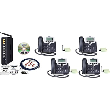 XBLUE X-50 WiFi VoIP Telephone System Bundle