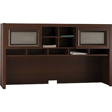 Bush® Achieve Collection Hutch, Sweet Cherry