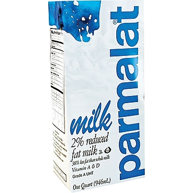 Parmalat 2% Milk, 32 oz., 12/Pack