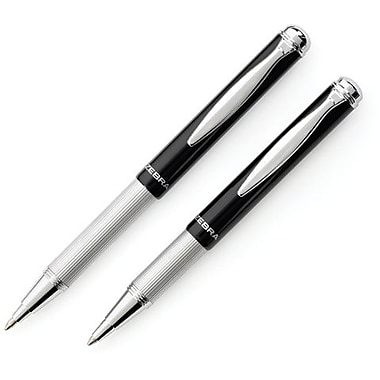 Zebra Telescopic Retractable Ballpoint Pen, 1.0 mm Point, Black Ink