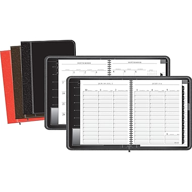 2013/2014 AT-A-GLANCE® Executive® Weekly/Monthly Appointment Book, 8 1/4in. x10 7/8in.