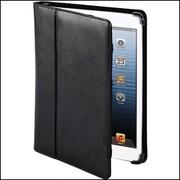 Cyber Acoustics iPad Portfolio Smart Cover, Black Leather