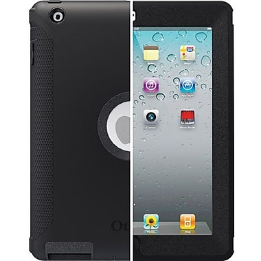 OtterBox™ 77-18640 Defender Series Hybrid Case For Apple iPad 2, 3 and 4th Generation, Black