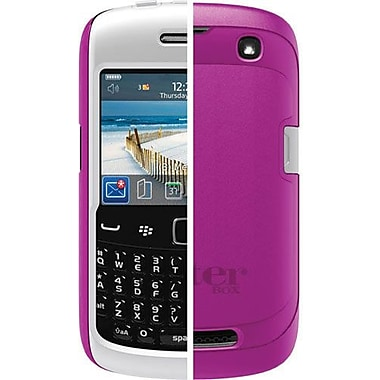 OtterBox™ RBB4-CRV93-44-E4AVN Commuter Series Hybrid Case For BlackBerry 9350/9360/9370, Pink/White