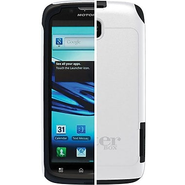 OtterBox™ 77-19113 Commuter Series Hybrid Case For Motorola Atrix 2, White/Black