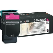 Lexmark Magenta Toner Cartridge (C544X2MG), Extra High Yield