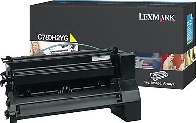 Lexmark Yellow Toner Cartridge C780H2YG High Yield