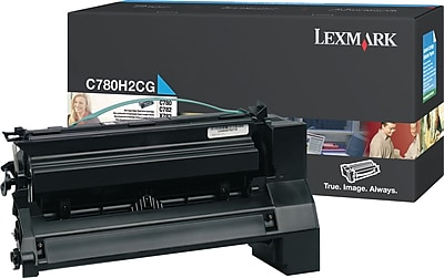 Lexmark Cyan Toner Cartridge C780H2CG High Yield