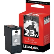 Lexmark 23A Black Ink Cartridge (18C1623), Standard