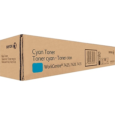 Xerox Cyan Toner Cartridge (6R1398)