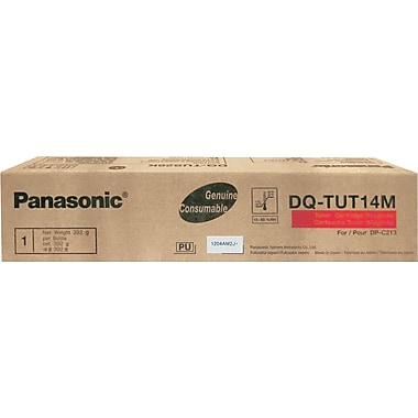Panasonic Magenta Toner Cartridge (DQ-TUT14M), High Yield