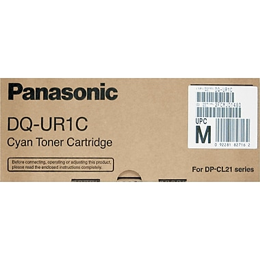 Panasonic Cyan Toner Cartridge (DQ-UR1C), High Yield