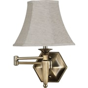Kenroy Home Mackinley Wall Swing Arm Lamp, Georgetown Bronze Finish