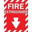 Brady® 69074 Fire Extinguisher Sign