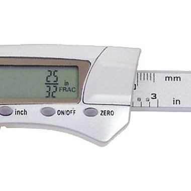 General Tools® 1433 Digital Fractional Caliper, 0 - 3