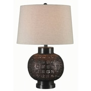 Kenroy Home Seville Table Lamp, Oil Rubbed Bronze Finish