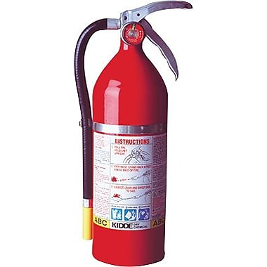 Kidde 468001 Fire Extinguisher, 5 lbs.