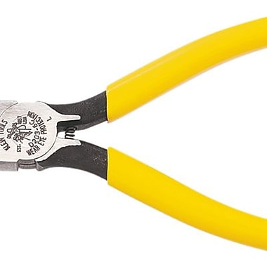 Klein Tools® D203-6C Standard Long Nose Plier W/Spring, 6 5/8in.(L)
