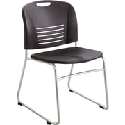 Safco® 4292 Vy Stacking Chair, Black