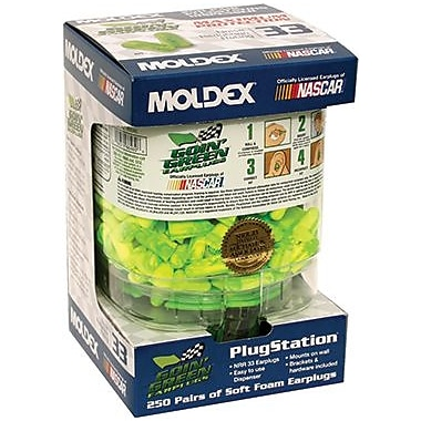 Moldex® Goin Green® PlugStation® 507-6674 Earplugs, 33 dB