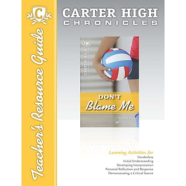 Saddleback Educational Publishing® Don't Blame Me Teacher's Resource Guide CD; Grades 9-12