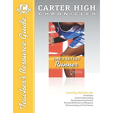 Saddleback Educational Publishing® The Fastest Runner Teacher's Resource Guide CD; Grades 9-12