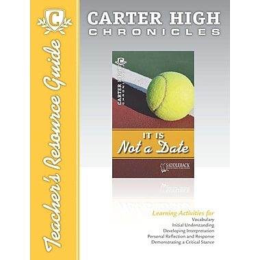 Saddleback Educational Publishing® It Is Not a Date Teacher's Resource Guide CD; Grades 9-12