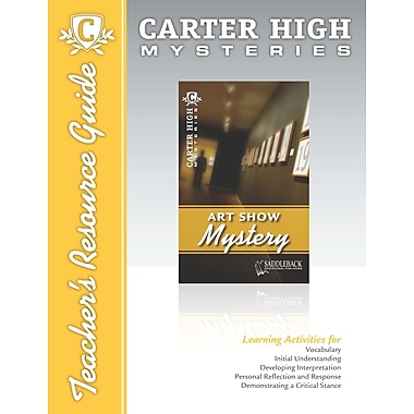 Saddleback Educational Publishing® Art Show Mystery Teacher's Resource Guide CD; Grades 9-12