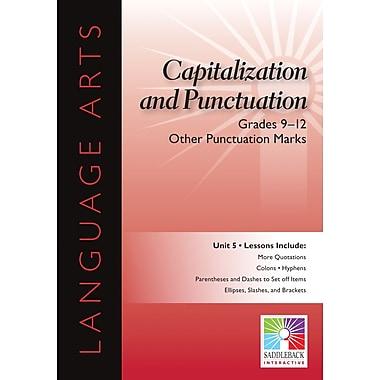 Saddleback Educational Publishing® Other Punctuation Marks; Grades 9-12