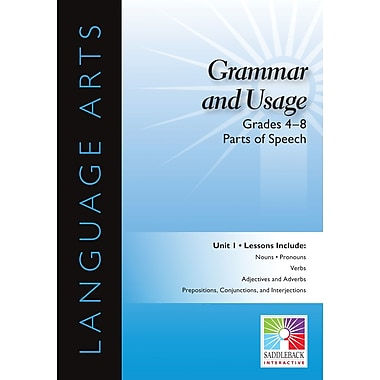 Saddleback Educational Publishing® Parts of Speech; Grades 4 - 8
