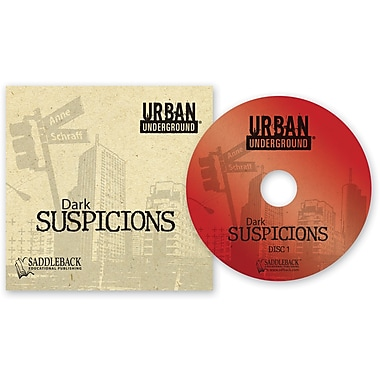Saddleback Educational Publishing® Urban Underground Dark Suspicions; Audiobook, Grades 9-12