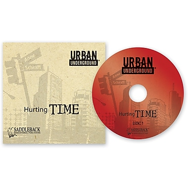 Saddleback Educational Publishing® Urban Underground Hurting Time; Audiobook, Grades 9-12