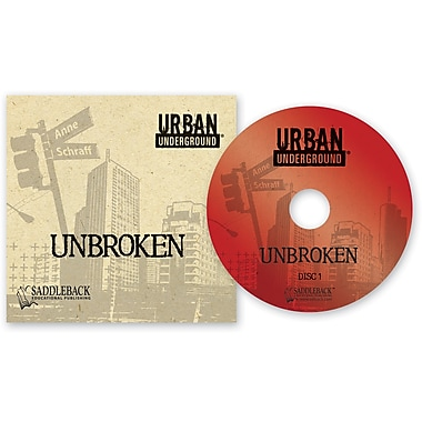Saddleback Educational Publishing® Urban Underground Unbroken; Audiobook, Grades 9-12