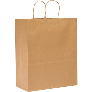 Duro® KSHP13717C Super Mart Handle Shopping Bag, Natural
