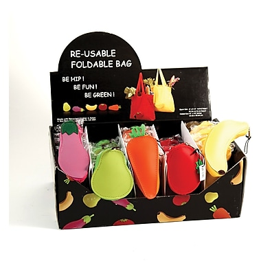 Bey-Berk 30 Piece  Assorted Re-Usable Foldable Bag