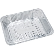 "Boardwalk® Aluminum Deep Steam Table Pan, Half Size, 1 1/11""(H) x 1 10/13""(W) x 40/43""(D)"