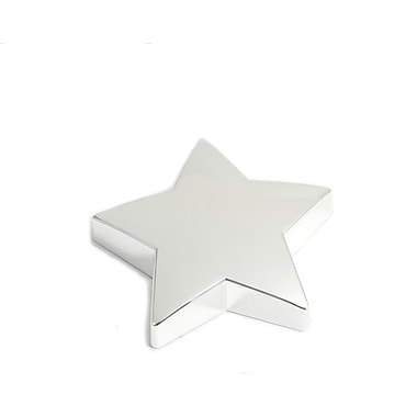 Bey-Berk Silver Plated  Paperweight, Star