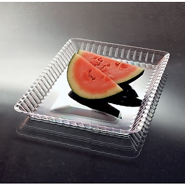 Yoshi® RE913C Serving Tray, 1in.(H) x 13in.(W) x 9in.(D), Clear