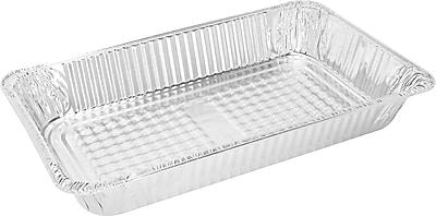 """""Handi-Foil 2019-70-50U Aluminum Food Container, 3 1/8""""""""(H) x 12 4/5""""""""(W) x 20 3/4""""""""(D)"""""" 150204"