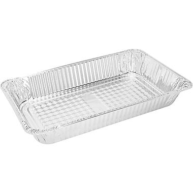 Handi-Foil® 2019-70-50U Aluminum Food Container, 3 1/8in.(H) x 12 4/5in.(W) x 20 3/4in.(D)
