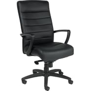 Raynor Eurotech Manchester Leather Executive Chair, Black