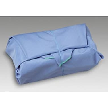 Medline Ripstop Reusable Sterilization Wrappers, Ciel Blue, Jade Green Stitching, 24in. x 24in. Size