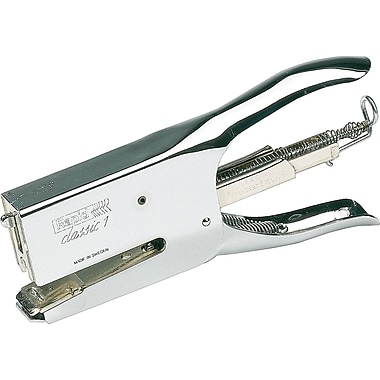Rapid R1 Classic Plier Full Strip Stapler, 50 Sheet Capacity, Chrome